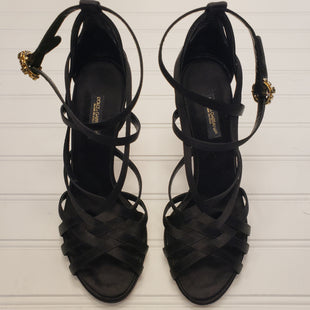 Primary Photo - BRAND: DOLCE AND GABBANA STYLE: SANDALS HIGH COLOR: BLACK SIZE: 6 OTHER INFO: EURO 36 SKU: 117-11711-172734