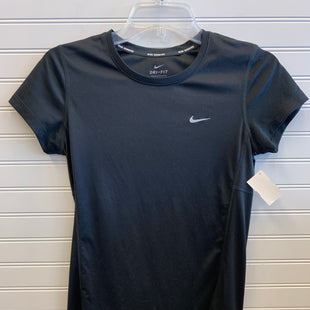 Primary Photo - BRAND: NIKE STYLE: ATHLETIC TOP SHORT SLEEVE COLOR: BLACK SIZE: S SKU: 117-117103-53358