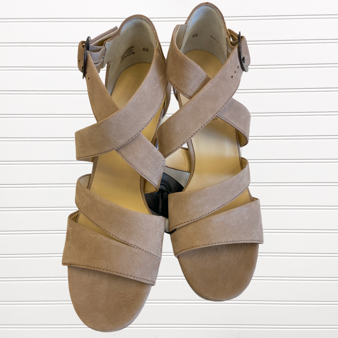 Photo #1 - BRAND:   CMC <BR>STYLE: SANDALS HIGH <BR>COLOR: TAN <BR>SIZE: 9 <BR>OTHER INFO: PAUL GREEN - <BR>SKU: 117-117120-18212