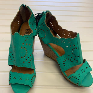 Primary Photo - BRAND: BKE STYLE: SANDALS HIGH COLOR: GREEN SIZE: 7.5 SKU: 117-11711-182501