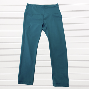 Primary Photo - BRAND: 90 DEGREES BY REFLEX STYLE: ATHLETIC CAPRIS COLOR: TEAL SIZE: S SKU: 117-117120-20423