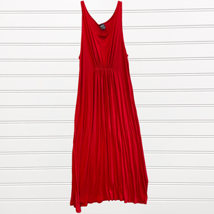 Primary Photo - BRAND:   CMC STYLE: DRESS LONG SLEEVELESS COLOR: RED SIZE: 2X OTHER INFO: VKY & CO - SKU: 117-117136-11486