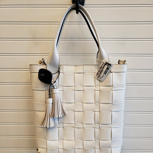 Primary Photo - BRAND: MICHAEL BY MICHAEL KORS STYLE: HANDBAG DESIGNER COLOR: WHITE SIZE: LARGE SKU: 117-11711-187285