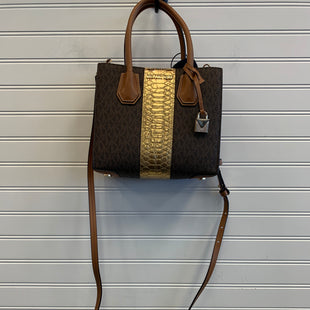 Primary Photo - BRAND: MICHAEL BY MICHAEL KORS STYLE: HANDBAG DESIGNER COLOR: BROWN SIZE: SMALL OTHER INFO: 30F7GM9M6V $248 SKU: 117-11783-100035