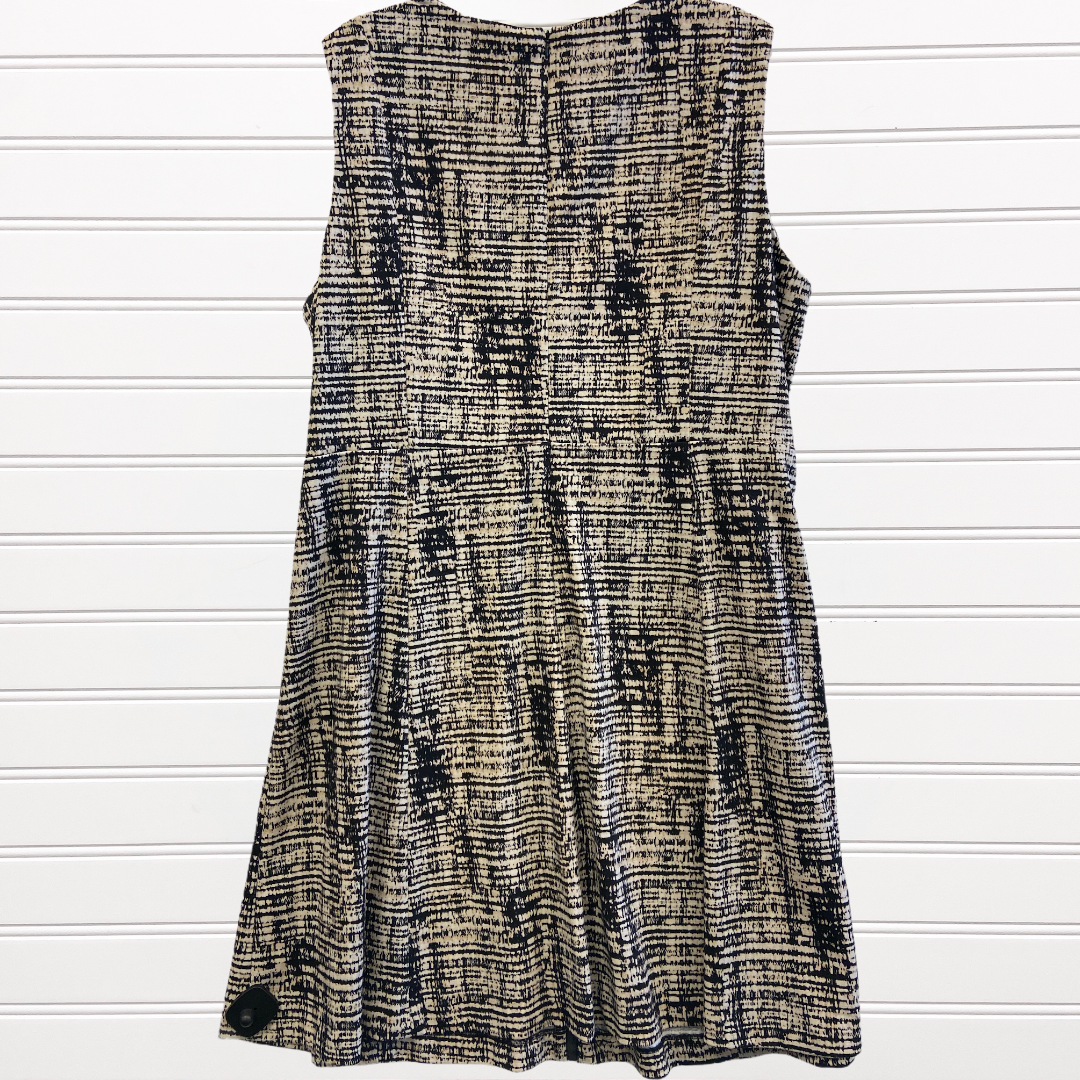 Photo #2 - BRAND: CALVIN KLEIN <BR>STYLE: DRESS SHORT SLEEVELESS <BR>COLOR: MULTI <BR>SIZE: 22 <BR>SKU: 117-117120-24577