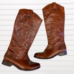 Primary Photo - BRAND: FRYE STYLE: BOOTS KNEE COLOR: BROWN SIZE: 8 OTHER INFO: 77167 MELISSA $348 SKU: 117-11783-96170