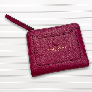 Primary Photo - BRAND: MARC JACOBS STYLE: WALLET COLOR: PLUM SIZE: SMALL SKU: 117-11711-178538