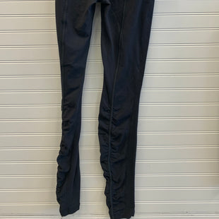 Primary Photo - BRAND: LULULEMON STYLE: ATHLETIC CAPRIS COLOR: BLACK SIZE: 6 OTHER INFO: GATHERED KNEES SKU: 117-117136-12706