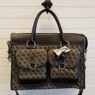 Primary Photo - BRAND: DOONEY AND BOURKE STYLE: HANDBAG DESIGNER COLOR: BLACK SIZE: LARGE SKU: 117-11711-179069