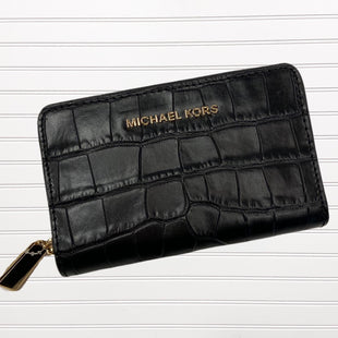 Primary Photo - BRAND: MICHAEL KORS STYLE: WALLET COLOR: BLACK SIZE: SMALL SKU: 117-117136-9761