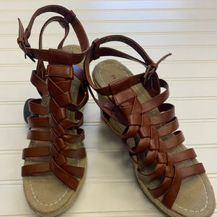 Primary Photo - BRAND: RAMPAGE STYLE: SANDALS HIGH COLOR: BROWN SIZE: 8.5 SKU: 117-11711-174096