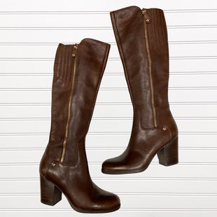Primary Photo - BRAND: GUESS STYLE: BOOTS KNEE COLOR: BROWN SIZE: 9 SKU: 117-11711-175129