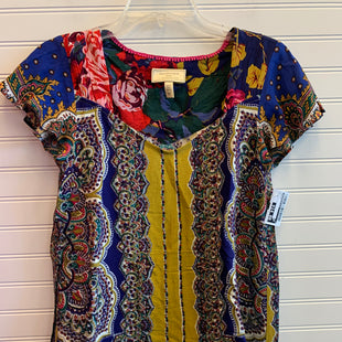Primary Photo - BRAND: ANTHROPOLOGIE STYLE: TOP SHORT SLEEVE COLOR: MULTI SIZE: 0 SKU: 117-117120-28183