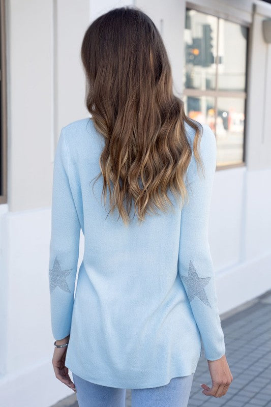 Blue Star Sweater