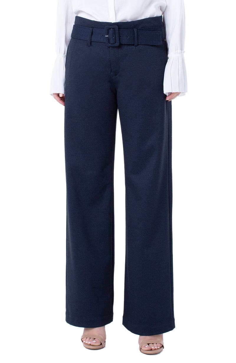 "Liverpool Taylor Trouser Belted High Rise 33"" Inseam"