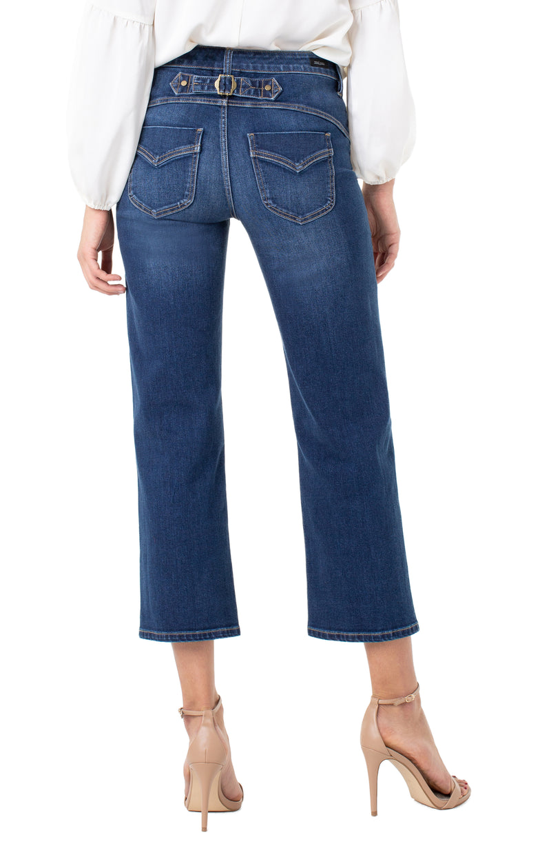 Liverpool Stevie Stovepipe Crop Jeans