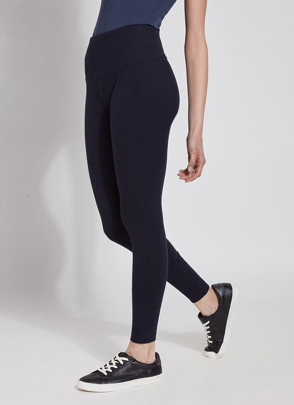 Navy Cotton Legging
