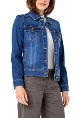 Liverpool Classic Stretch Jean Jacket