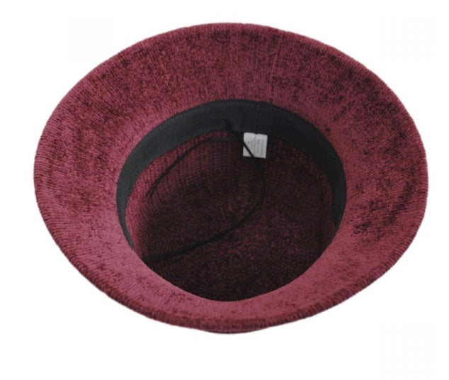 Chenille Cloche Hat