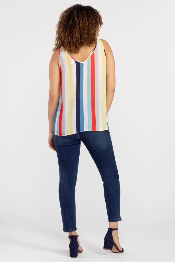Tribal Bold Stripe Tank