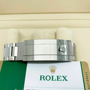 Rolex Red Sea Dweller 43mm Ceramic Stainless Steel Watch Ref 126600 Box & Card