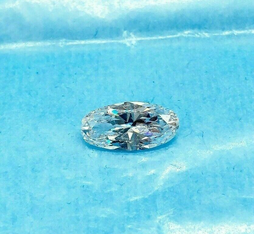 "Loose GIA Diamond - Rare Oval ""Moval"" Cut 2.99 Carats GIA D SI2 Diamond"