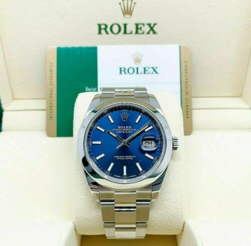 Rolex 41MM Datejust II Watch Stainless Steel Oyster Smooth Bezel Ref # 126300