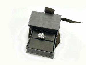 1.85 Carats t.w. Diamond Wedding/Anniversary Ring 14K Gold G VS Extra Sparkly