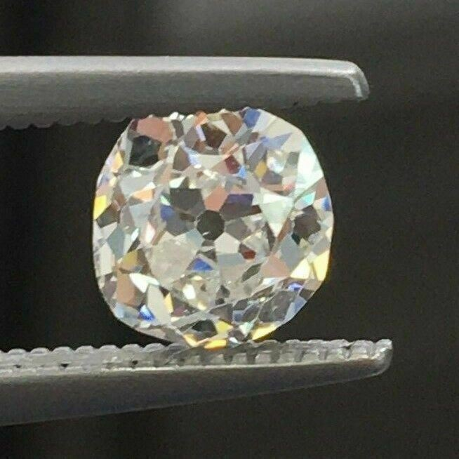 Loose GIA Diamond - 1.13 Carats GIA Loose Old Mine Brilliant Cut Diamond G VS1