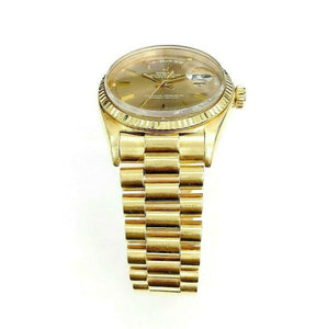 Rolex Day Date President Watch 18 Karat Yellow Gold 36MM Ref # 1803 Circa 1950's