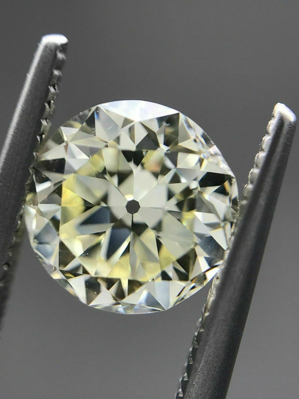 2.05ct Old European Cut - O/VS2 Diamond - AGS# 104092399004