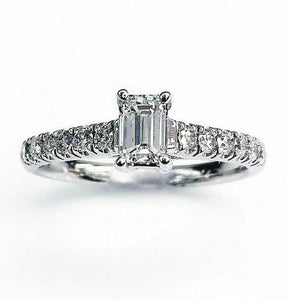 0.73 Carats t.w. Diamond Wedding/Engagement Ring G SI1 quality 14K Gold New