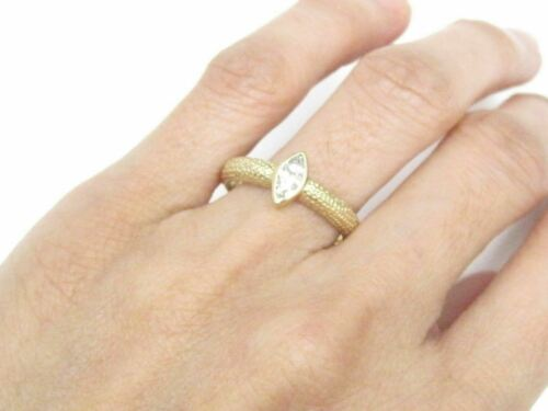 .25 TCW Marquise Cut Diamond Solitaire Engagement Ring Size 7 I SI-3 14k Gold