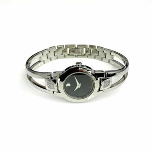 Movado Amorosa Women's Watch Stainless Steel Factory Set Diamonds Ref 84 E4 1842