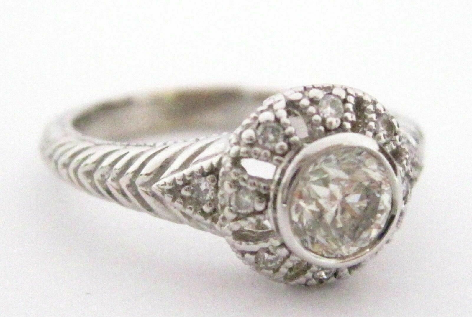 .76 TCW Round Brilliants Diamonds Engagement/Anniversary Ring Size 7 I SI-1