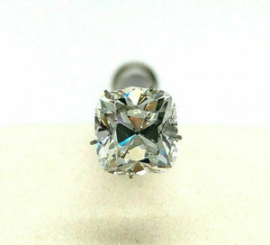 Loose Diamond GIA Diamond - 5.05 Carats Old Mine Brilliant Cushion Cut L VVS2