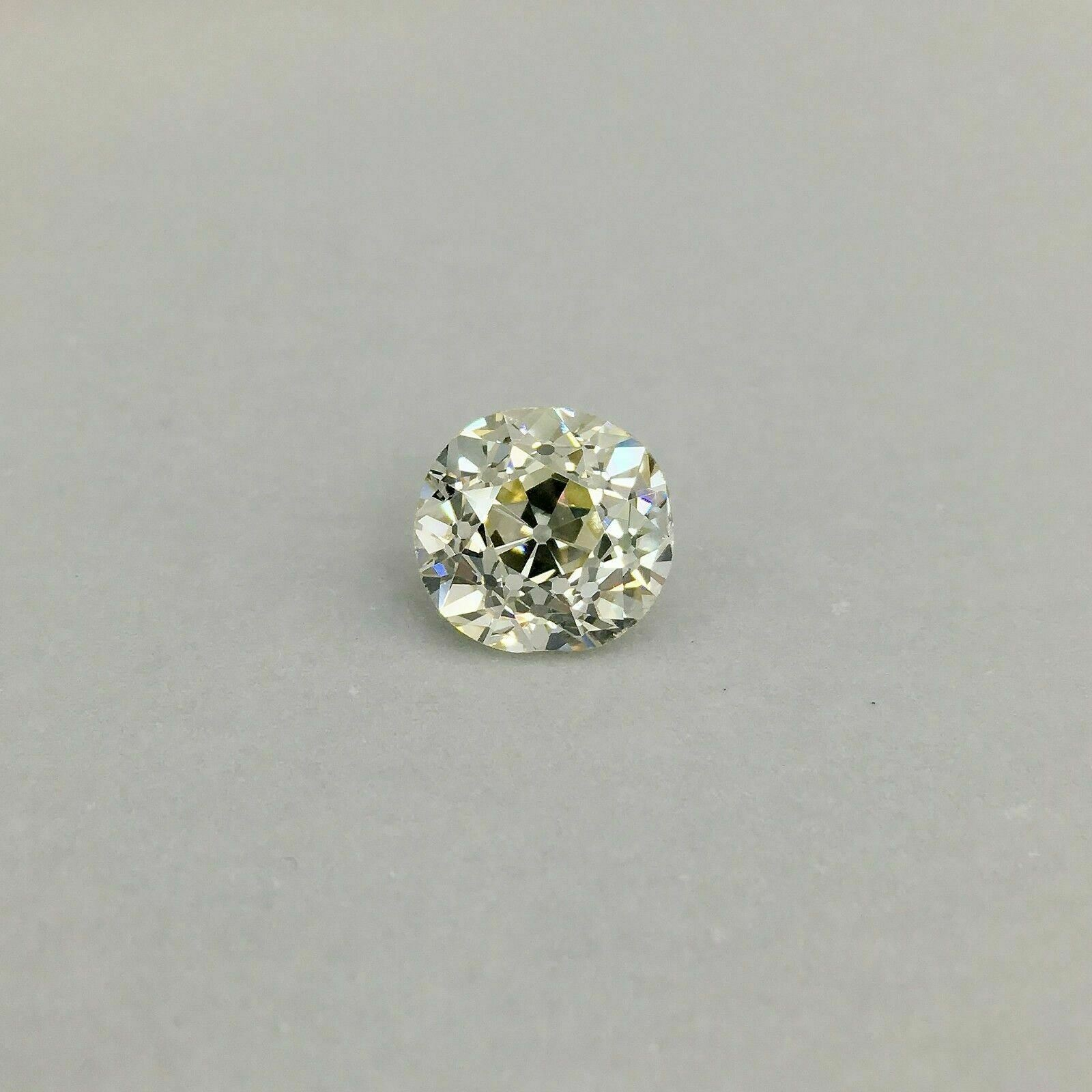 Vintage & Rare 5.25 Ct Old European Cut Loose Diamond GIA Certified O-P SI-1