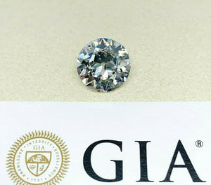 Loose GIA Diamond 2.56 Carats GIA Circular Brilliant Old European Cut Diamond