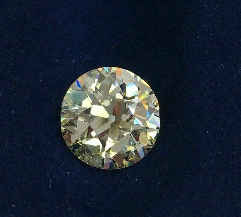 Loose GIA Diamond - 3.63 Cts GIA Loose Old European Brilliant Cut Dia Q-R/VVS2