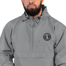 Load image into Gallery viewer, Embroidered Champion Packable Jacket- Dab Day Productions Logo