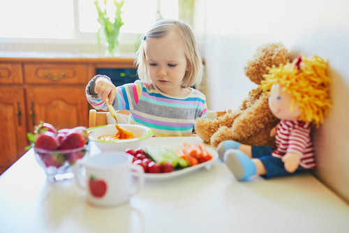 How to get your toddler to eat more veg!