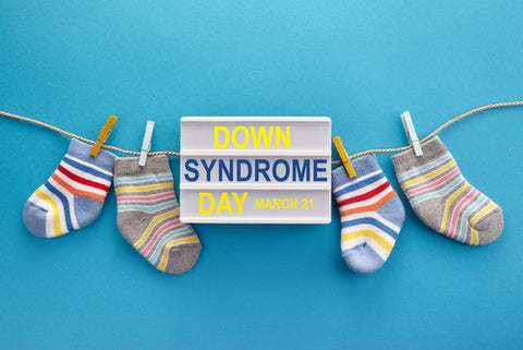 socks for Down syndrome day