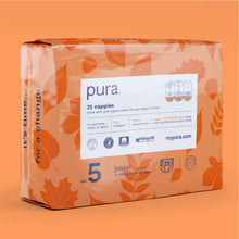 Load image into Gallery viewer, Pura Eco Nappies Size 5 (11-25kg)