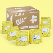 Load image into Gallery viewer, Pura High Performance Eco Nappies Size 1 (2-5kg)