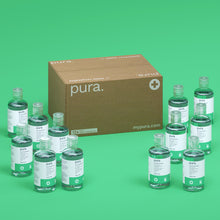 Load image into Gallery viewer, Pura 70% Alcohol Hand Sanitiser (12 pack x 100ml bottles)