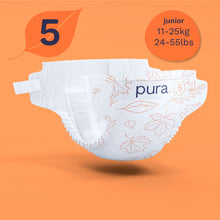 Load image into Gallery viewer, Pura High Performance Eco Nappies Subscription Size 1-6 (2-15kg+)