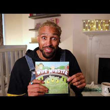 Load and play video in Gallery viewer, Ashley Banjo's bedtime reading of 'Lily and the Wipe Monster' book for Pura