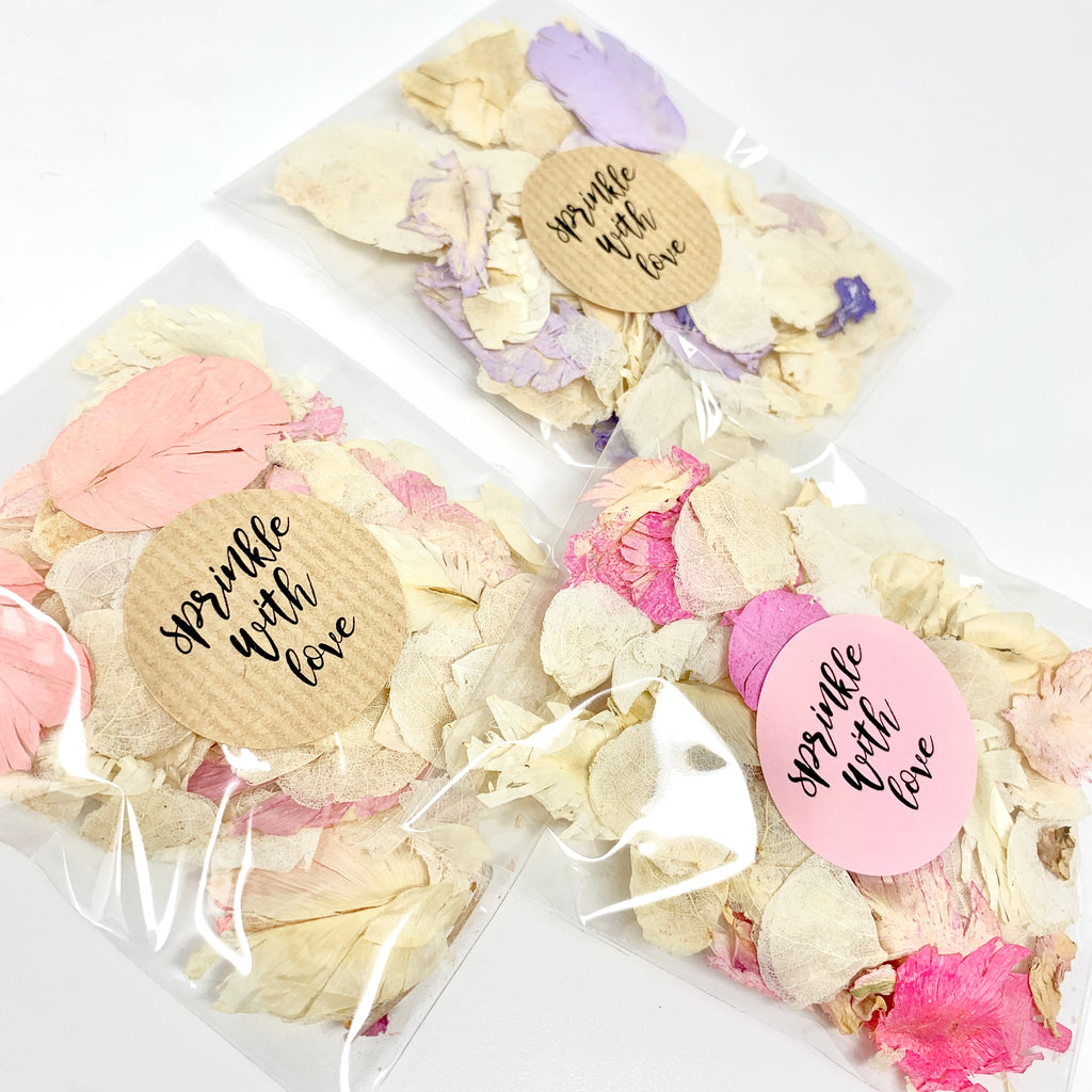 Clear Packets - Dollz Confetti