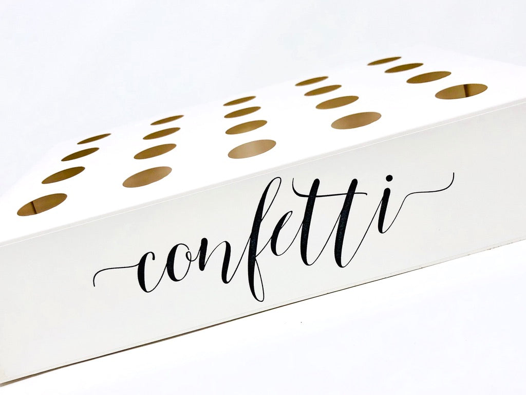 Cone tray - Dollz Confetti