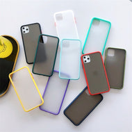Funda Transparente de colores Compatible con Iphone
